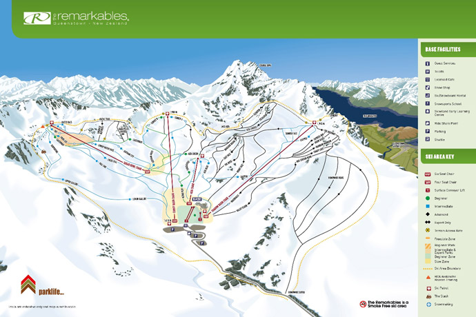 The new trail map for The Remarkables features the Curvey Basin chairlift and new runs_media